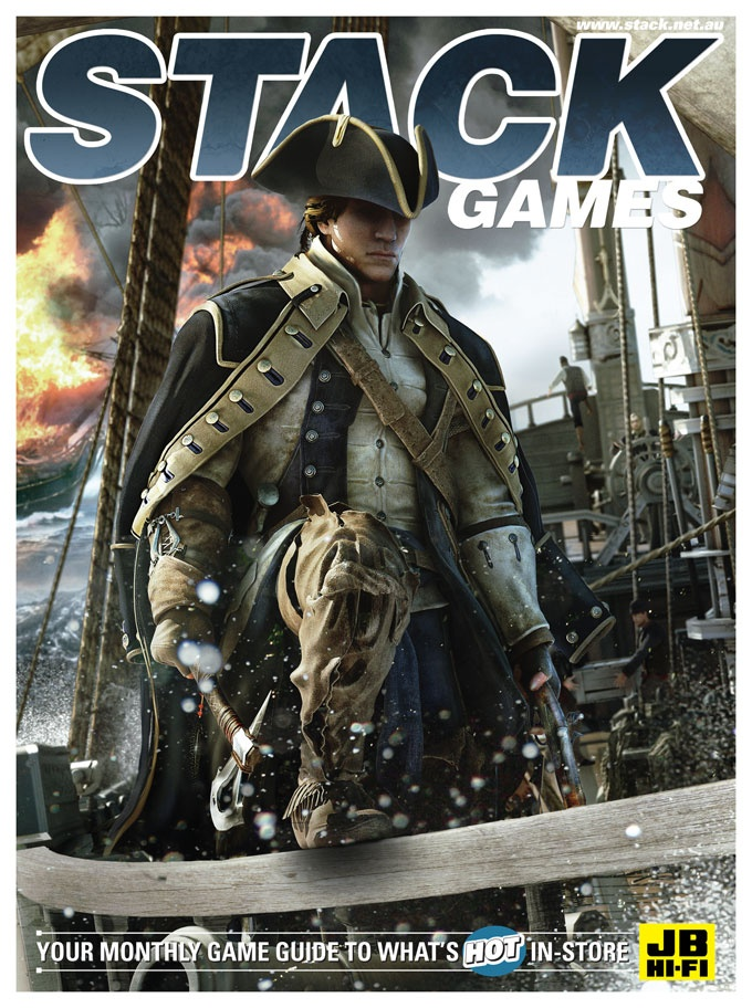 STACK issue 97 - October 2012  Assassin's Creed III