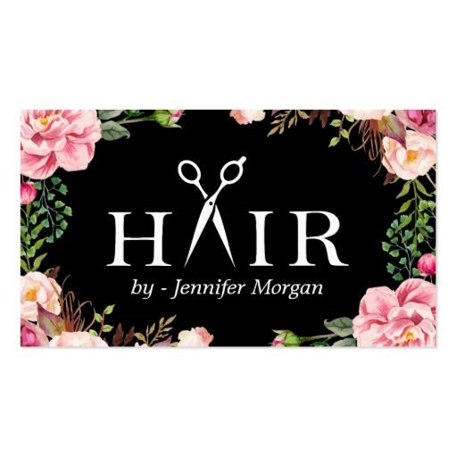 The 25+ best Hairstylist business cards ideas on Pinterest