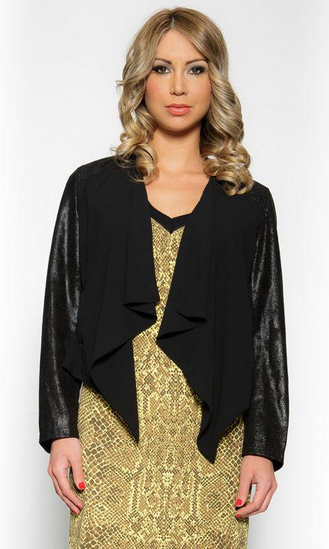 AlibiOnline - Let It Glow Jacket by URBAN ALIBI, $89.95 (http://www.alibionline.com.au/let-it-glow-jacket-by-urban-alibi/)