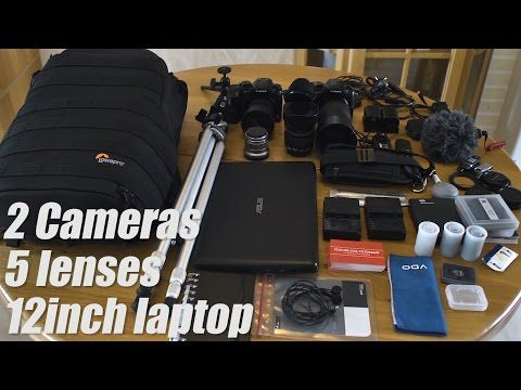 LOWEPRO PROTACTIC 350 aw, Will my Camera gear fit in the bag? - YouTube