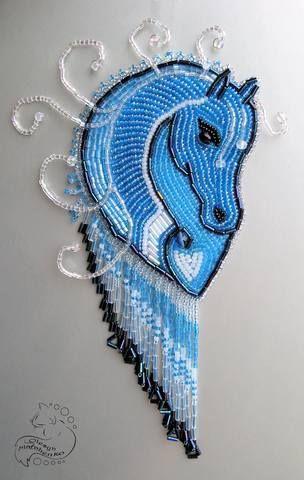 Nicely done horse's head    Лошадка 2014 (конкурс БИ) 3