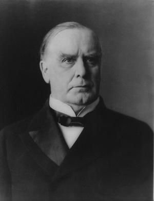 William McKinley, Twenty-Fifth President of the United States - Credit: Library of Congress, Prints and Photographs Division, LC-USZ62-8198 DLC