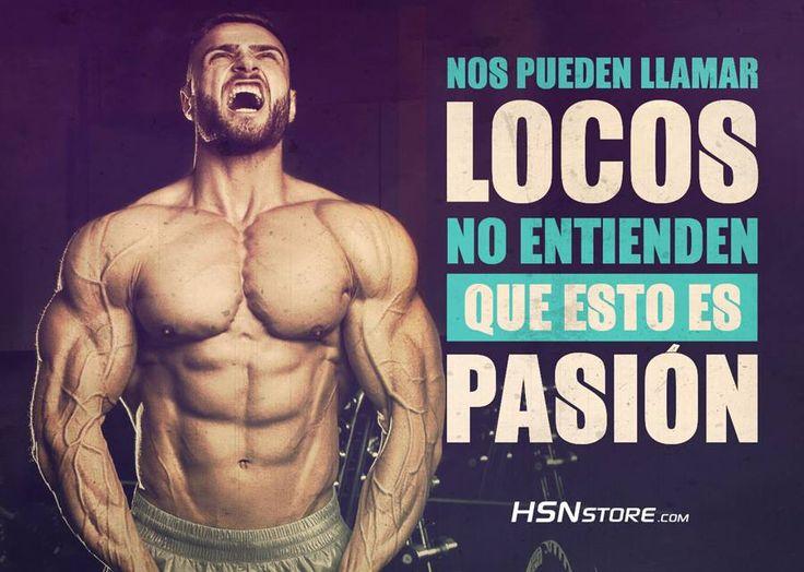 Nos pueden llamar locos, no entienden que esto es pasión. #fitness #motivation #motivacion #gym #musculacion #workhard #musculos #fuerza #chico #chica #chicofitness #chicafitness #sport