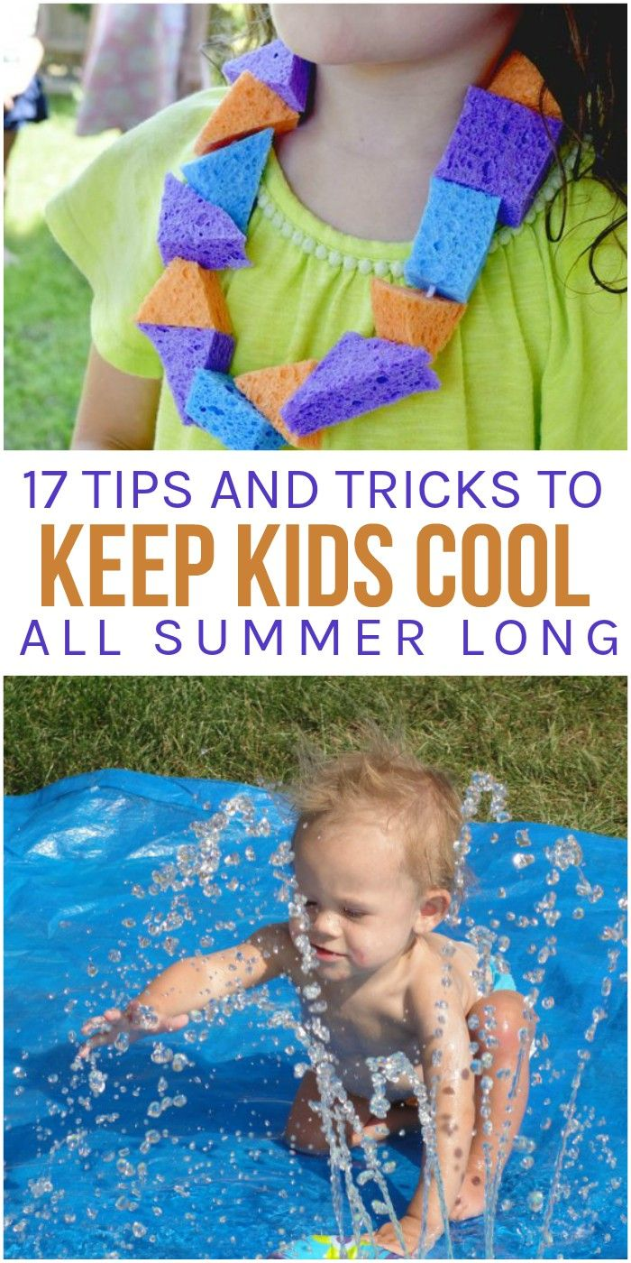 Heatwaves and cranky kids are no joke. Although the summer break can be lots of fun, no mom wants a house full of cranky kids who are complaining because it's just too hot to do anything. That's where these fun activities come in. We've found 17 ways to keep kids cool this summer (and they'll also keep mom happy).