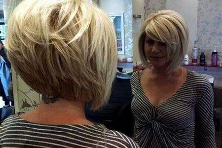 23 Best Stacked Bob Hairstyles 2017 Mit Bildern Kurze Haare Ideen Haarschnitt Kurz Frisuren
