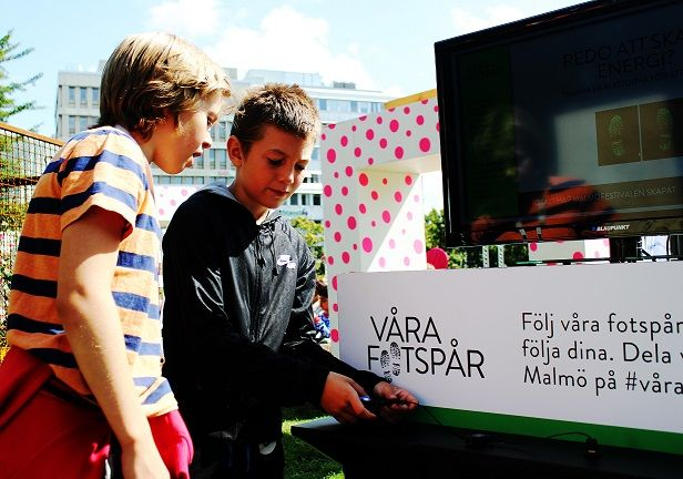 Pavegen's at Malmöfestivalen until #Friday!   We have installed 4 tiles at the festival, to power an energy game for the festival goers! The #energy generated was harvested to charge mobile devices through our phone charging connections! #sustainability #renewableenergy