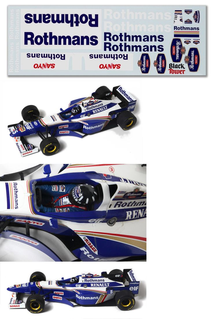Supergraphicsf1 Williams Renault F1 Race Car Gold Decal Sticker x1 23mm