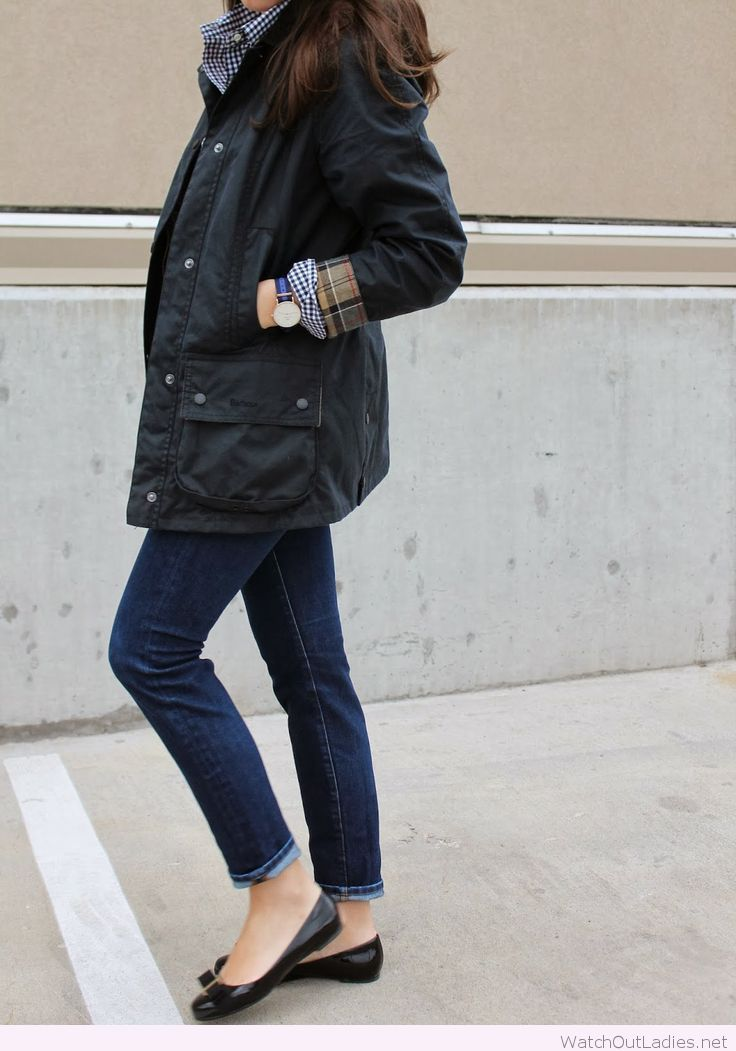 Barbour jacket, so perfect