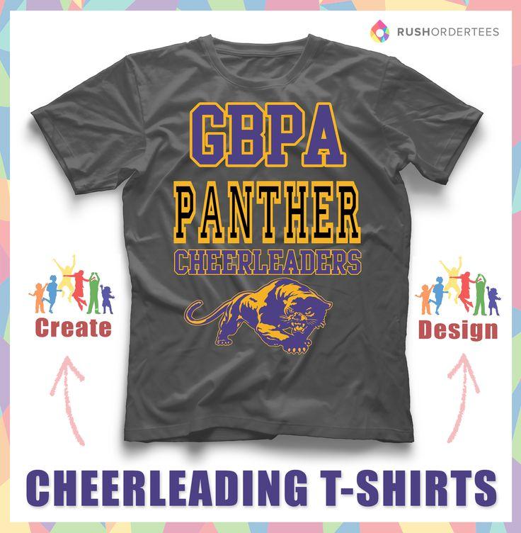 cheerleading custom t shirt design idea create cheerleading shirts for your team www - Cheer Shirt Design Ideas