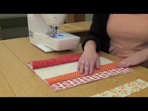 Here's a place mat that's so easy you'll be eager to sew a set of four! This quilt-as-you-go project means that when the top is done, so is the quilting! See...