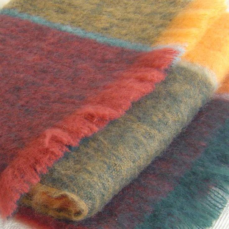 Mohair (Angora) Blankets / Throws