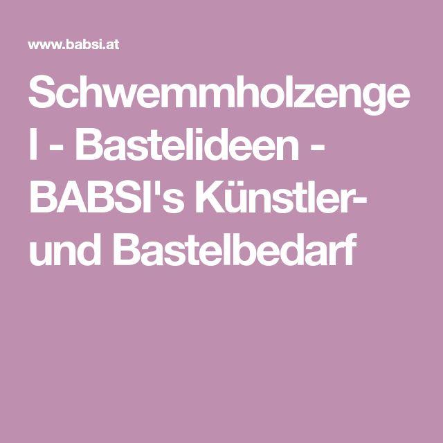 Schwemmholzengel - Bastelideen - BABSI's Künstler- und Bastelbedarf