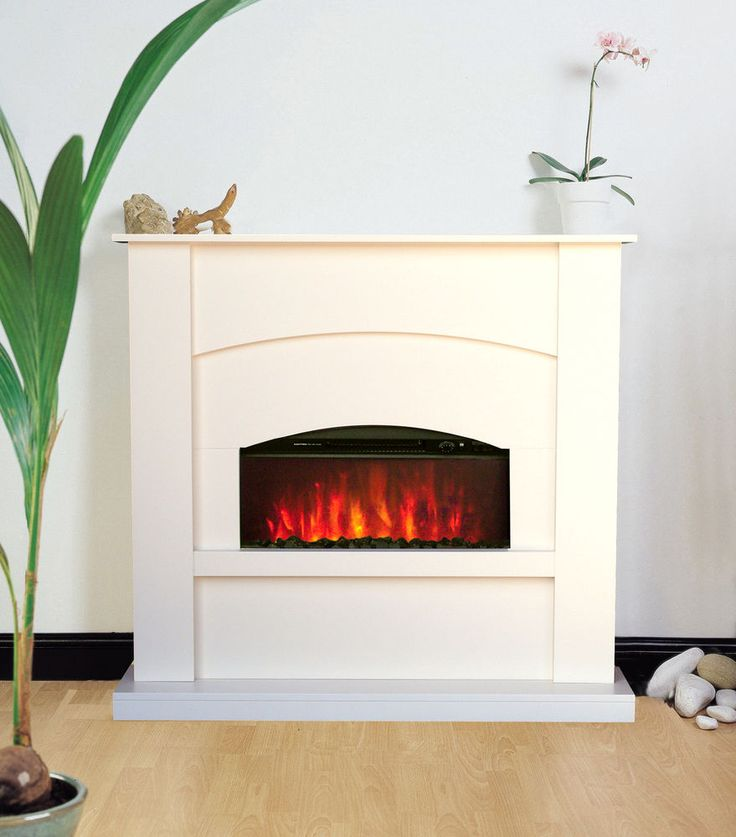 002 Cream Surround Back Panel And Hearth Including