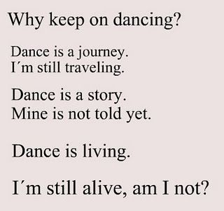 Dance Quotes ♡ www.theworlddances.com/ #dancequote #dance