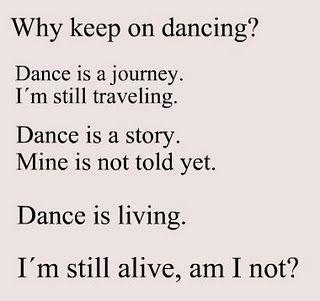 Dance Quotes ♡  www.theworlddances.com/ #dancequote #dance