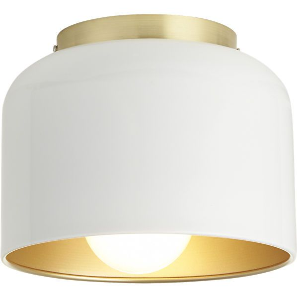 bell white flush mount lamp http://www.cb2.com/all-lighting/lighting/bell-white-flush-mount-lamp/f9934