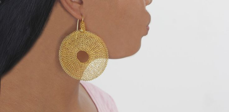Sumbanese Brass Earring