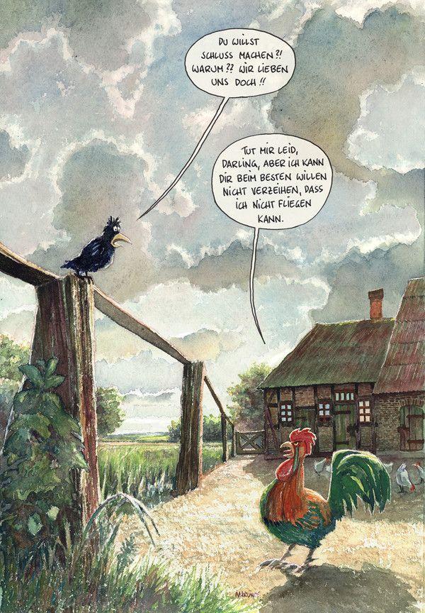 Bauernhof marunde cartoons illustrationen von wolf - Pinterest witze ...