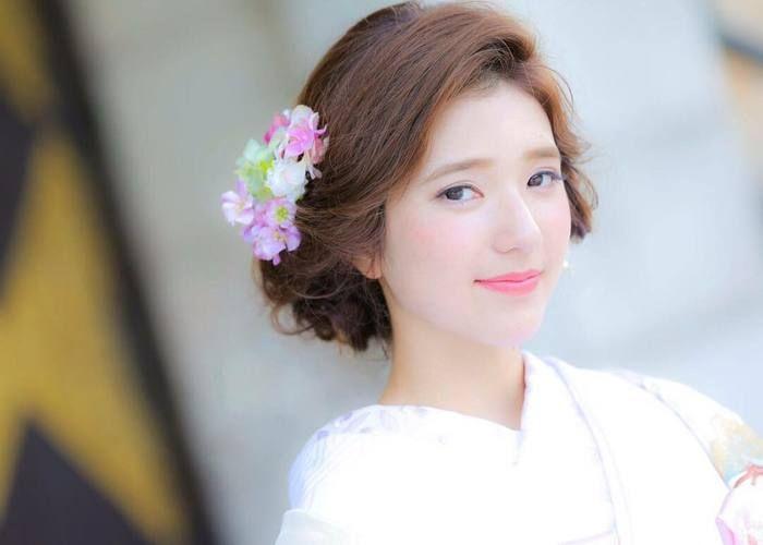 はんなり可愛い♡和装ヘアアレンジにぴったりな可愛い髪飾りの種類別まとめ*のトップ画像