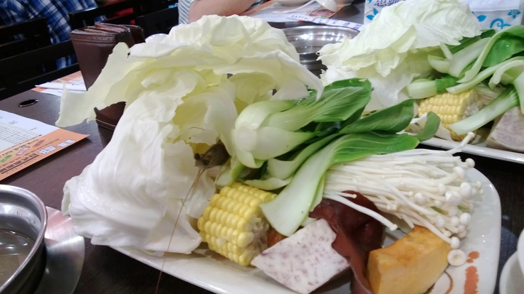 "The veggies and default meats for the ""Shapu-Shapu"""