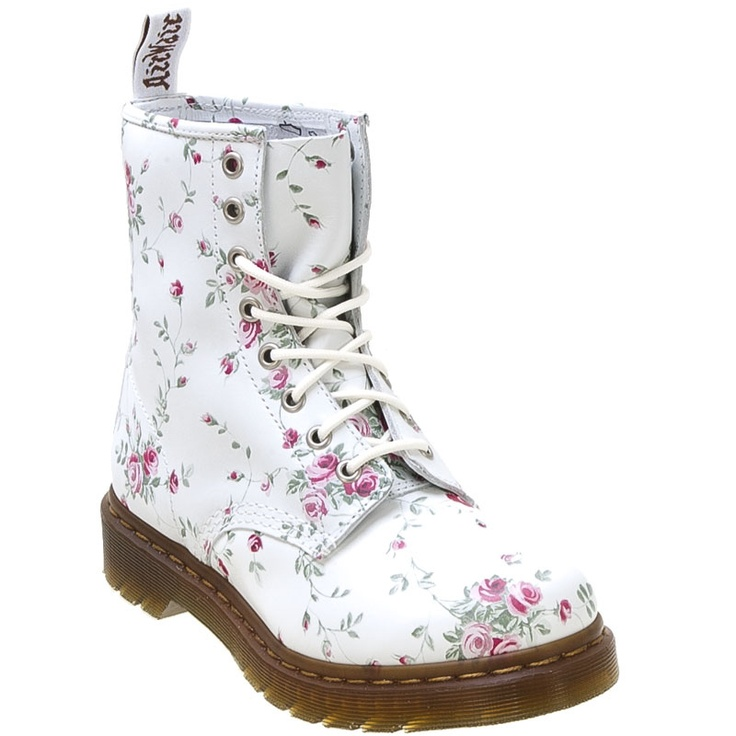 44 best docs images on pinterest doc martens boots doc martens martens womens 1460 8 eye white flowers lace up boot shoes mightylinksfo Image collections