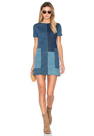 J Brand Luna Shift Dress in Rosemary Mix | REVOLVE