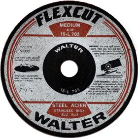 In the early 1970's Introduction of the first flexible grinding wheels followed by other unique high performance abrasives.