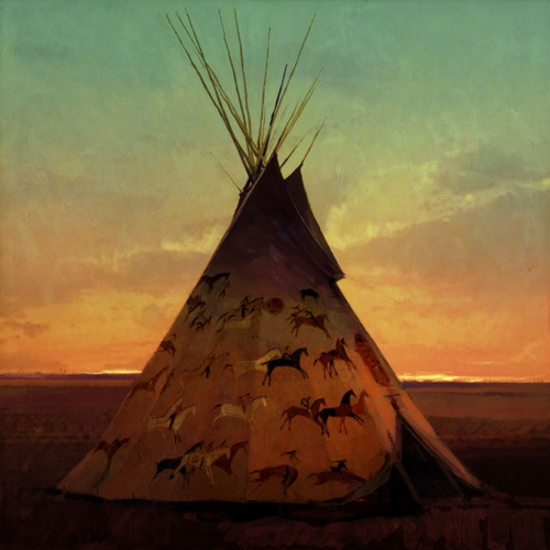 41 Best Plains Indian Teepee Images On Pinterest