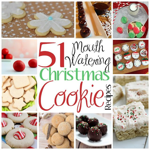 51 Mouth Watering Christmas Cookie Recipes