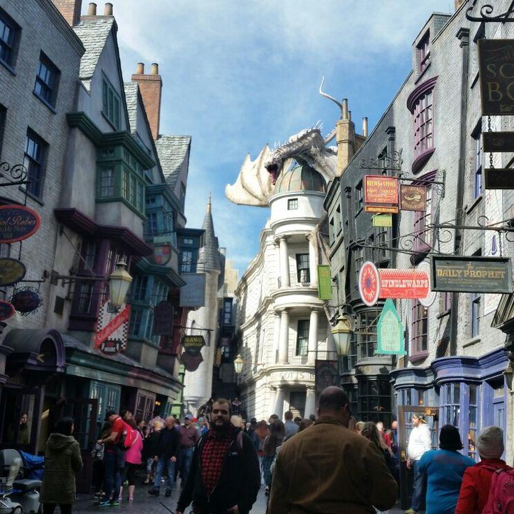Diagon Alley, Universal Studios