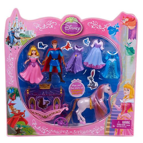 Disney Princess Little Kingdom Deluxe Gift Set Sleeping