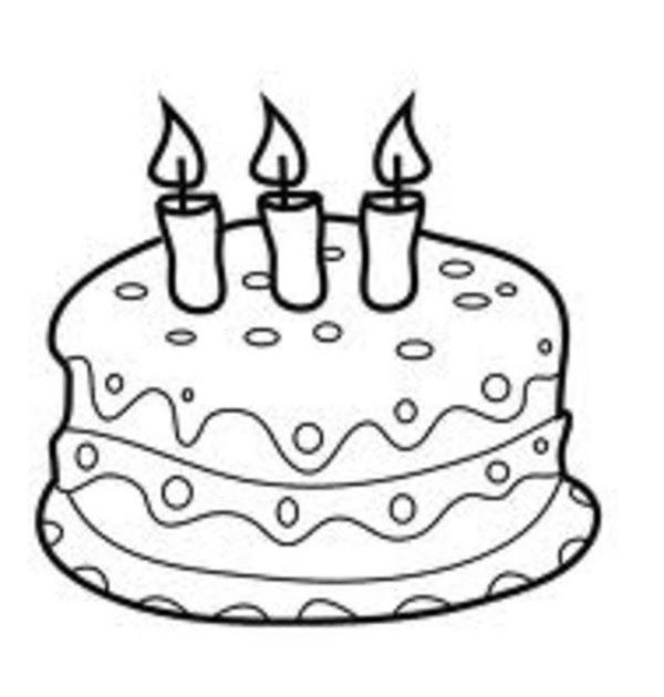 Candle Birthday Cake Coloring Pages Birthday Cake With Candles Cartoon Thin Line Cake Wi Cupcake Coloring Pages Cartoon Coloring Pages Shopkin Coloring Pages