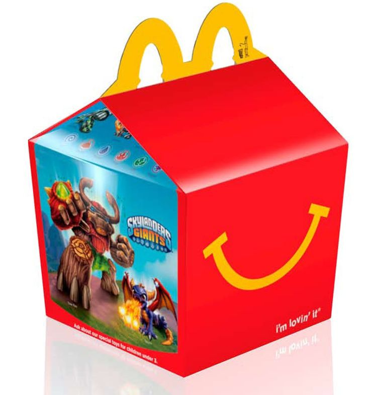 Fabuleux first happy meal box - Google Search | McDonalds Happy Meal  IV93