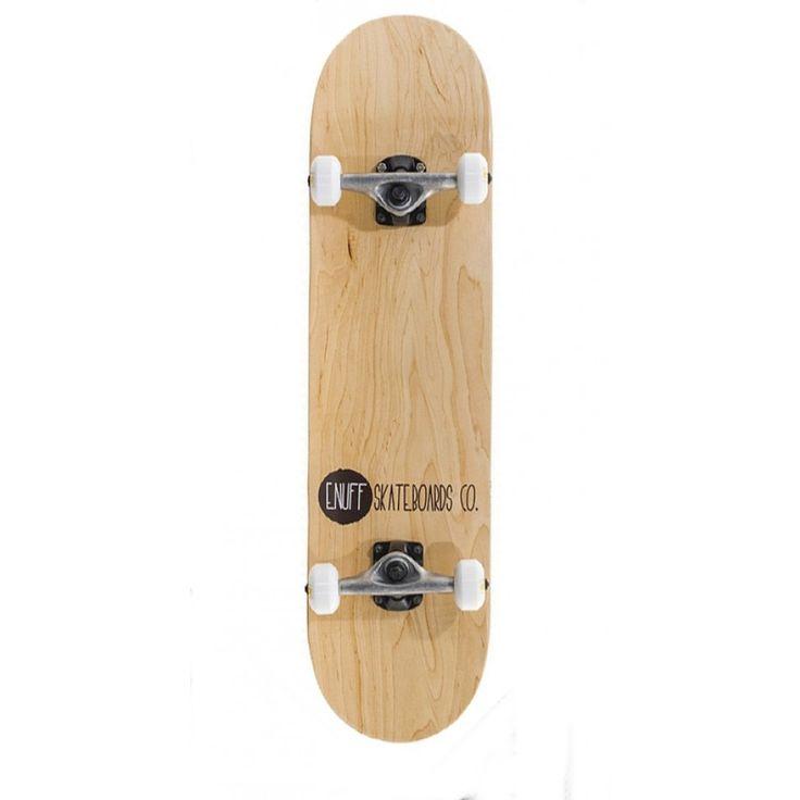 ENUFF Skateboard PLANCHE COMP LOGO STAIN Natural Skateboards