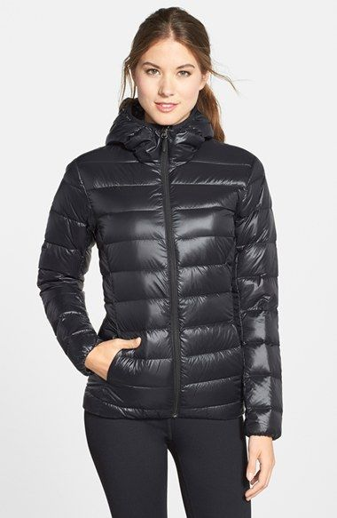 adidas Water Resistant Quilted Down Jacket available at #Nordstrom