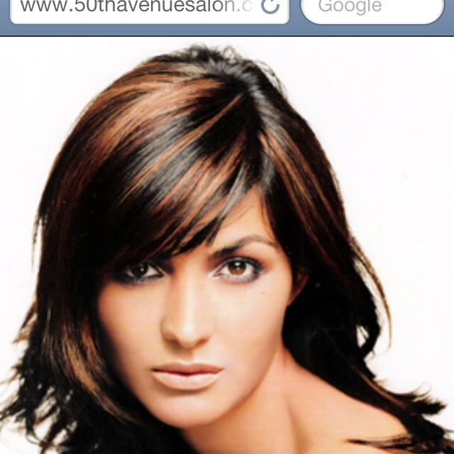 haircuts with highlights and lowlights highlights on bangs only hair highlights hair 2720