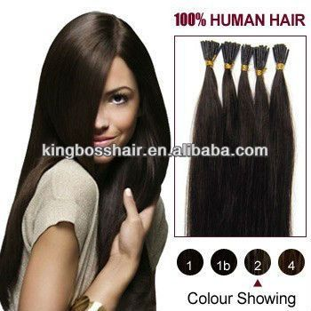 """18"""" 20"""" 22"""" 24"""" 26"""" all color 100 strands 100% human hair i tip style pre bonded hair extension aliexpress accepted"""