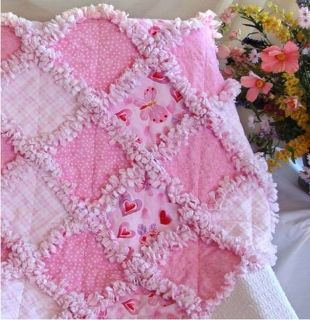 baby quilt ideas... rag quilts are easy to do... just don't do them much...