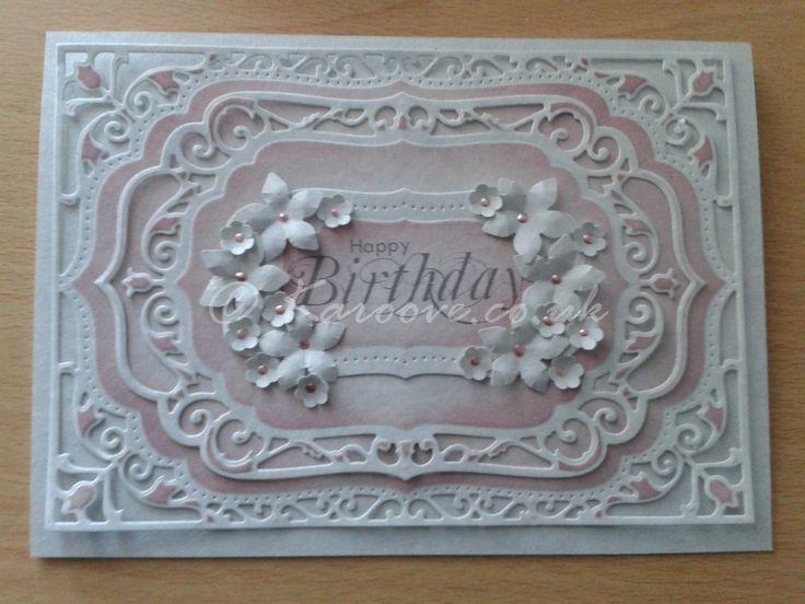 Birthday Wishes – spellbinders elegant labels 4