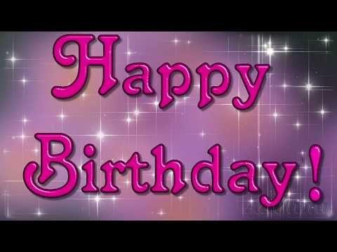 Alles Gute zum Geburtstag/ Happy Birthday... - YouTube