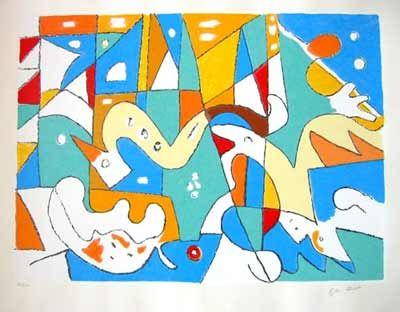 Galleri Profilen - Graphics / Sculpture - Ejler Bille