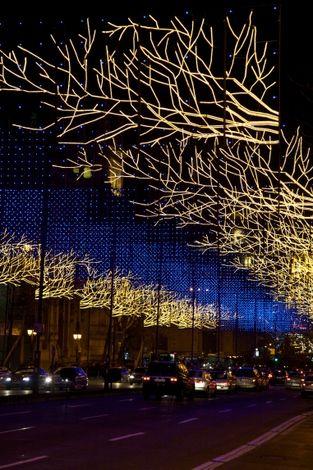 """Preciosa #navidad en #Madrid  - que por cierto este finde pasado por lo visto estaba """"petao""""!"""