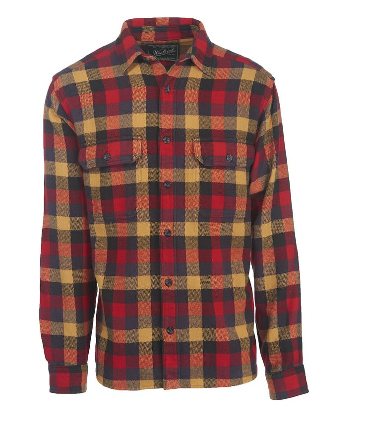 Woolrich - Oxbow Bend Plaid Flannel Shirt - Multi Buffalo