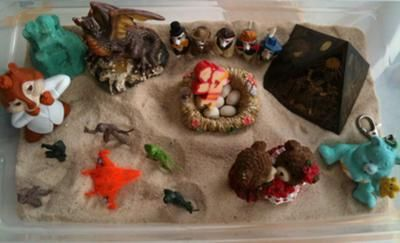 The Levels of Sand Tray Therapy