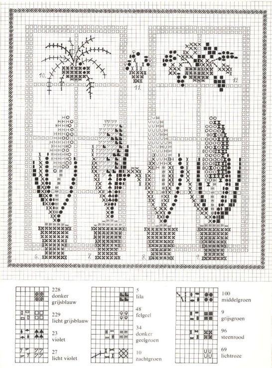 Gallery.ru / Фото #27 - Cross Stitch Pattern in Color - Mosca