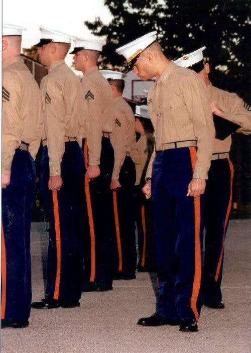 Dress Blue Charlies Lipstick Amp Leathernecks The Marine