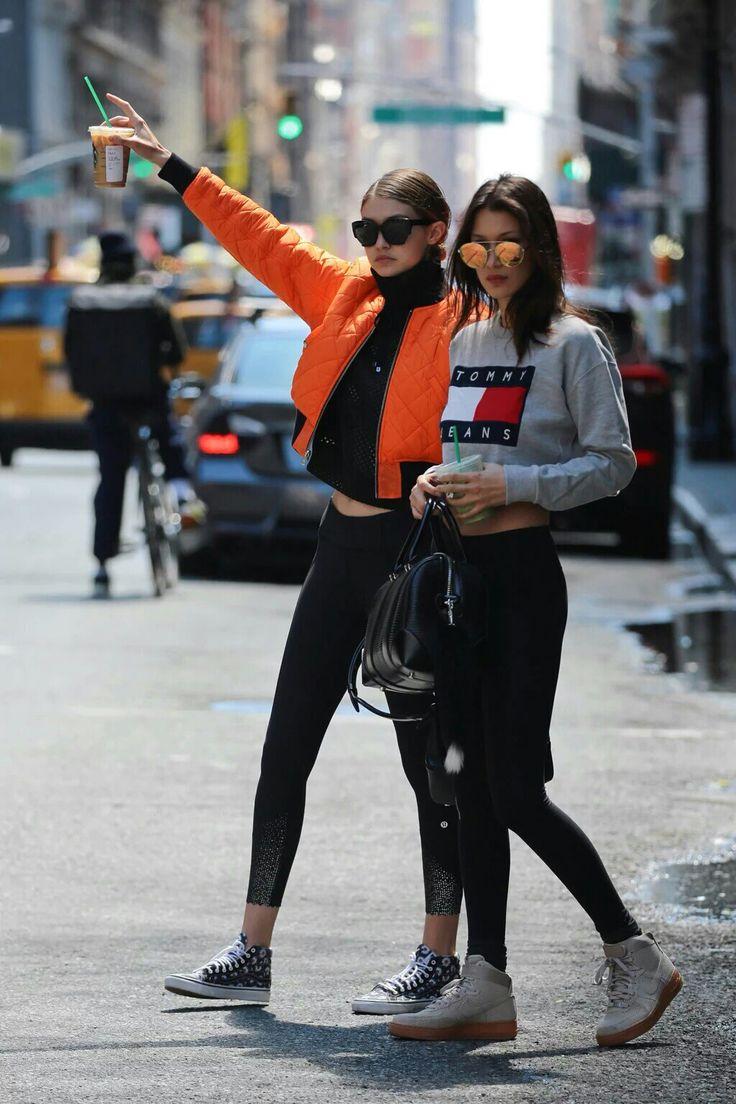 Bella Hadid and Gigi Hadid | @nickibryson