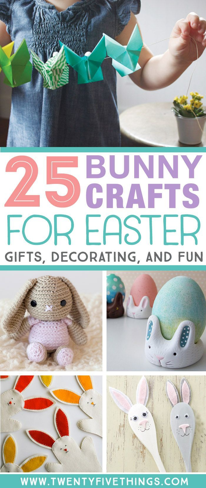 Over 25 Bunny Craft Ideas And Diy Projects Denali Explorers