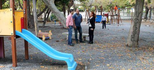 Comienzan las obras de mejora de los parques del municipio
