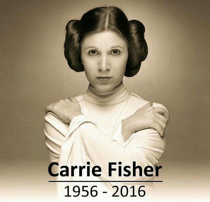 #CarrieFisher #princessleia sadly missed #RestInPeace #StarWars